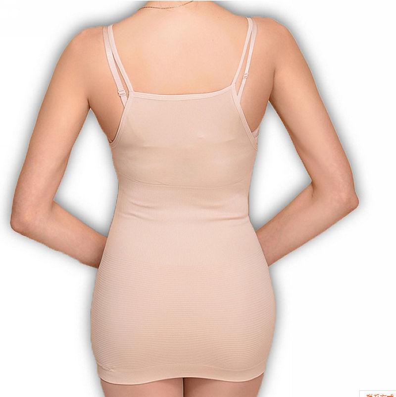 2016 hot shapers Sexy Seamless Tops Slim waist body shaper chest binder plus size shapewear underwear women fajas modeladoras