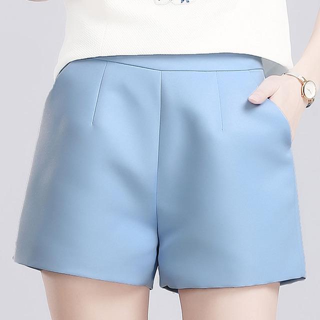 2016 новых женщин летом жарко шорты весна стройное слово широкую ногу шорты широкий ...