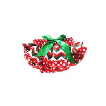 Newborn Baby Girls Christmas Holiday Satin Panties Ruffles Bloomers Diaper Covers Baby Bloomers NB-24M 6 Designs(China (Mainland))