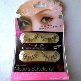 [Top quality] Free shipping,30box/lot (4 pairs/box with glue) Japan KOJI Dolly Wink diamond eyelash(DUP.1)(China (Mainland))