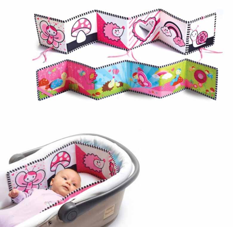 Hot sale baby toys cute cartoon cloth book multifunction early learning toys colorful baby ruffle lovely chinese books for baby(China (Mainland))