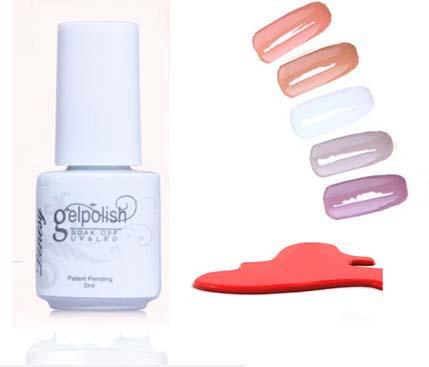 168 cores unhas de Gel polonês Gel de longa duração Soak off unhas de Gel unhas de Gel UV 5 ml 1 Pcs verão