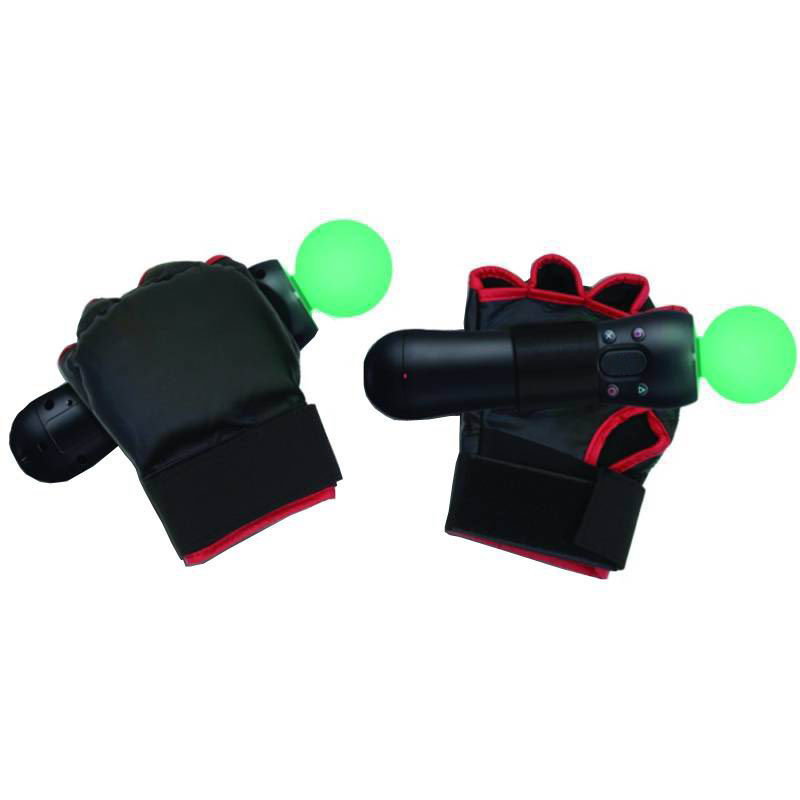 Combat Boxing Gloves PS Move Motion Controller for Sony PS3 Console Video Game(China (Mainland))