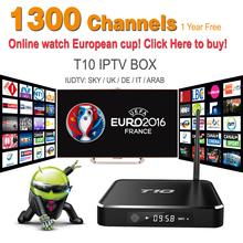 Best arabic iptv box 1 year iudtv 1300 Plus hot Channels/Sky (DE UK IT)/Box Office/Sky sports Canal+ Arabic /Swiss/Spain/Indian