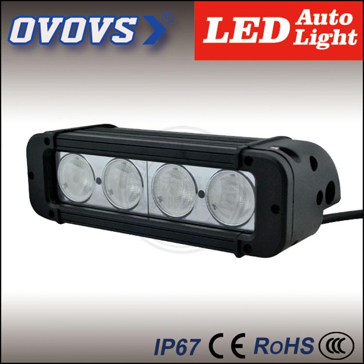 2 pcs truck parts supplier 40w single row led light bar with IP67,waterproof,aluminum housing(China (Mainland))
