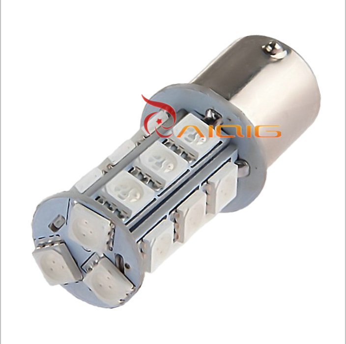 2 pcs 1156 BA15S P21W White Red Amber / Yellow 5050 18 SMD LED Car Brake Stop Lamp Light Bulb Car Light Source 12 V