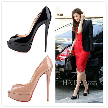 2015 red bottom high heels shoes woman summer style pumps wedding shoes zapatos mujer chaussure femme sapato feminino sapatos(China (Mainland))