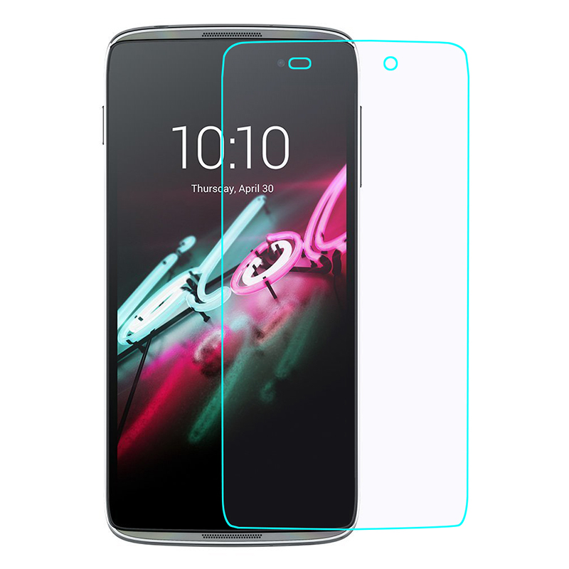 For Alcatel One Touch idol 3 4.7 Screen Protector 2.5D 9H Tempered Glass Protective Film For Onetouch Idol3 6039 6039J 6039Y(China (Mainland))