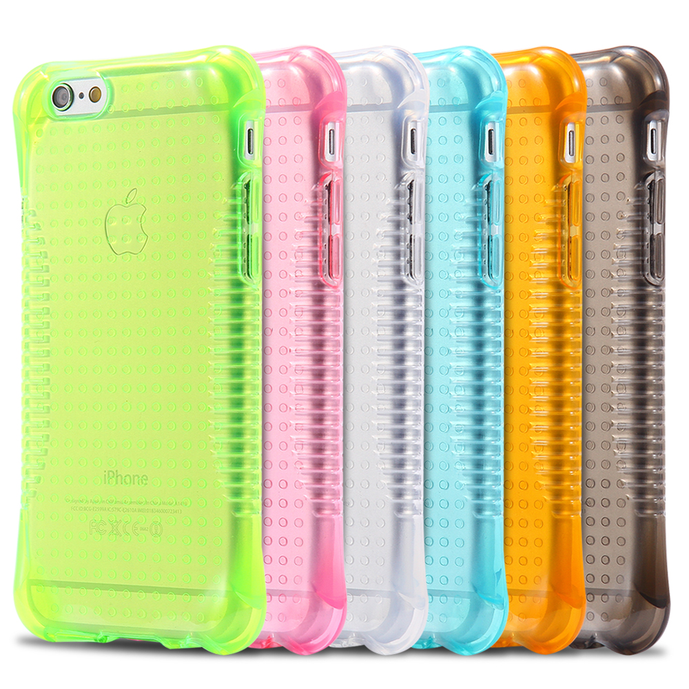 Candy Color Clear Soft TPU Silicone Anti Skid Shockproof Case Cover For iPhone 5 5S SE Transparent Cell Phone Protective cases(China (Mainland))