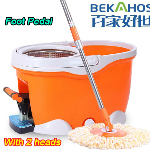 Award Winning Newest Version Spin Mop Driven By Hand Push ( Foot Pedal) - Original Inventor(China (Mainland))