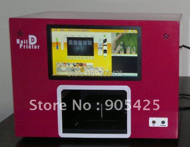 Digital DIY Manicure Nail art printers,5nails one time Multifuctional printers-Free shipping(China (Mainland))