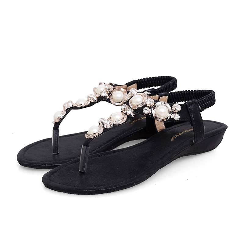 2016 fashion brand low heel flat ladies PU leather sandals soft sandals shoes woman casual sandals shoes comfor female sandals(China (Mainland))