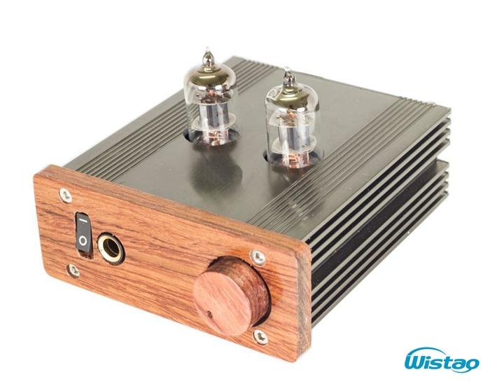 HIFI Tube Headphone Amplifier 6J1 Vacuum Tubes 500MW 32-600 ohm Earphone p Built-in Booster Circuit Audio Free Shipping 110/220V(China (Mainland))
