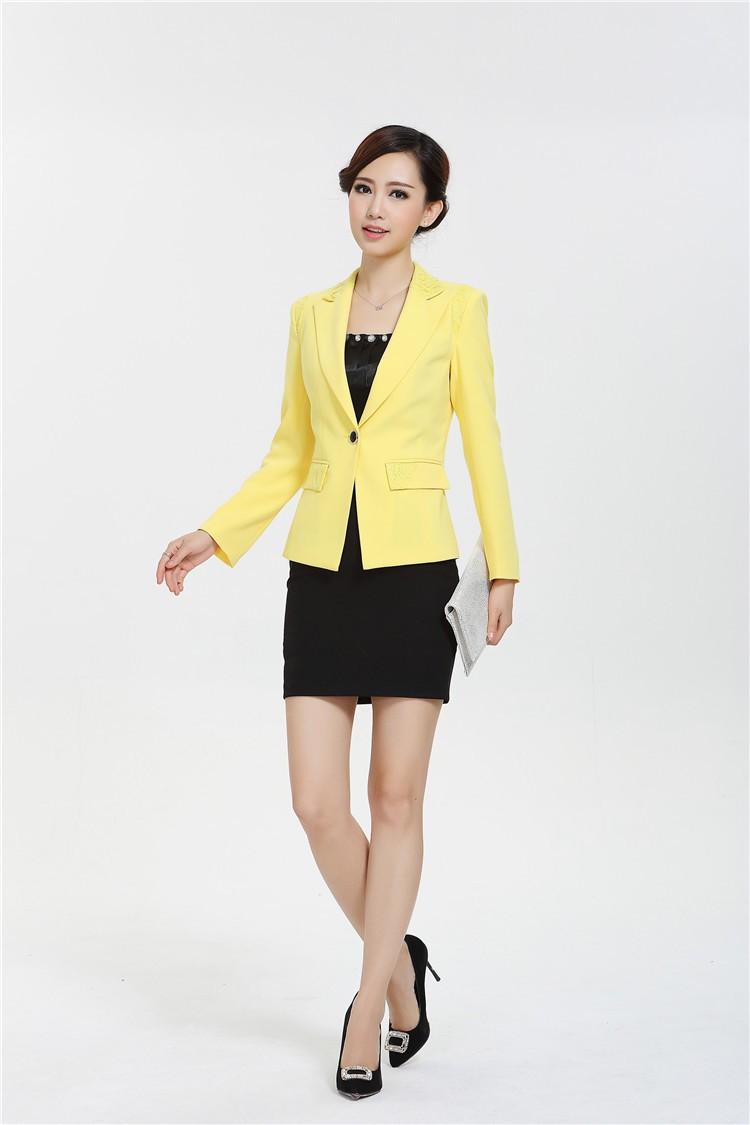 new 2014 spring fashion women blazer winter jackets for