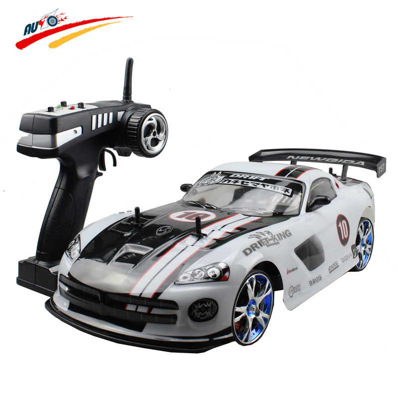 Large RC Car 1:10 High Speed Racing Car For Dodge Viper Championship 2.4G 4WD Radio Control Sport Drift Racing electronic toy(China (Mainland))