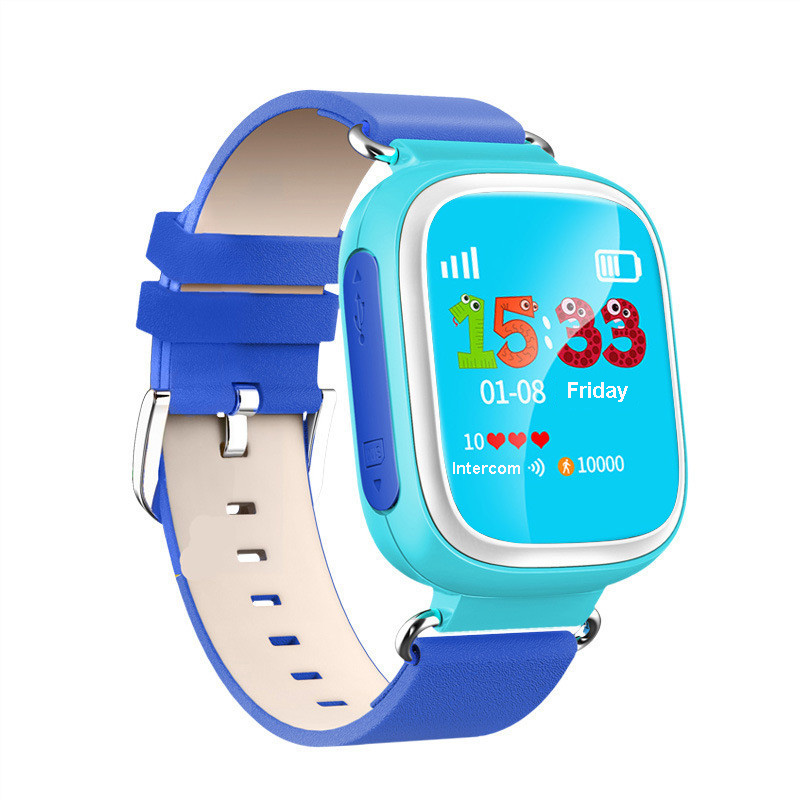 2016 Fashion cute kid GPS Smart Watch Wristwatch SOS Call Location Device Tracker for Kid Safe Anti Lost Monitor Baby Gift Q80(China (Mainland))