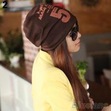 Unisex Women Men Note Five Hip hop Baggy Beanie Hat Cool Dance Cotton Blend Cap 1T51