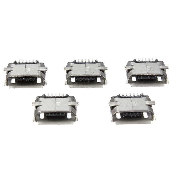 Micro USB 4 Legs Type B Female 5Pin SMT Socket Jack Connector Plug USB Widely Used In Tablet Phones And PDA(China (Mainland))