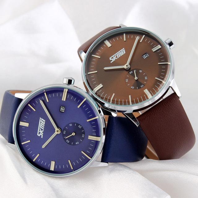 Zegarek męski SKMEI elegancki klasyczny praktyczny różne kolory