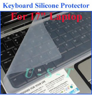 """Universal Keyboard Cover Skin Protector For 17"""" Laptop PC / 100 pcs(China (Mainland))"""