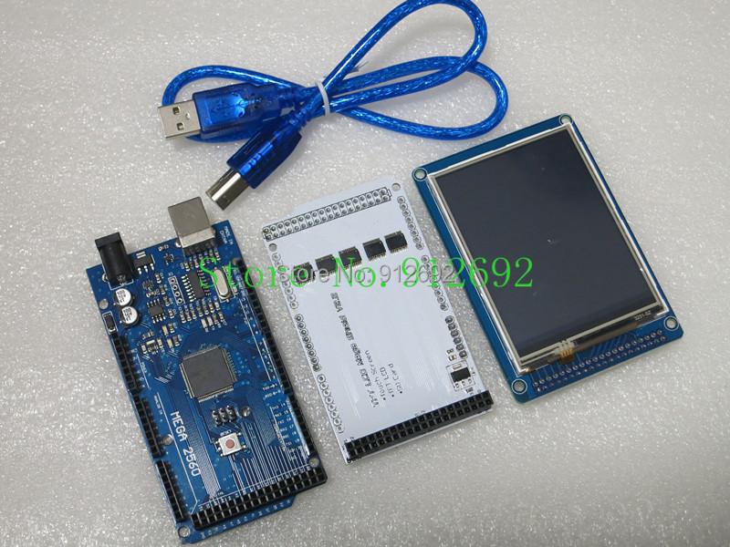 Pmryjj - 32 TFT LCD Display Touch Screen Shield
