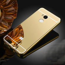 Buy Luxury Mirror case xiaomi redmi 4 Pro Prime (5.0 inch) Metal Aluminum + Ultra Slim Acrylic Back Cover xiaomi redmi 4A for $2.39 in AliExpress store