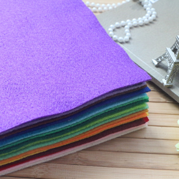 HIGH Quality DIY Soft FELT fabric 19 color set (22x25cm each piece) best choose for DIY, can choose color(China (Mainland))