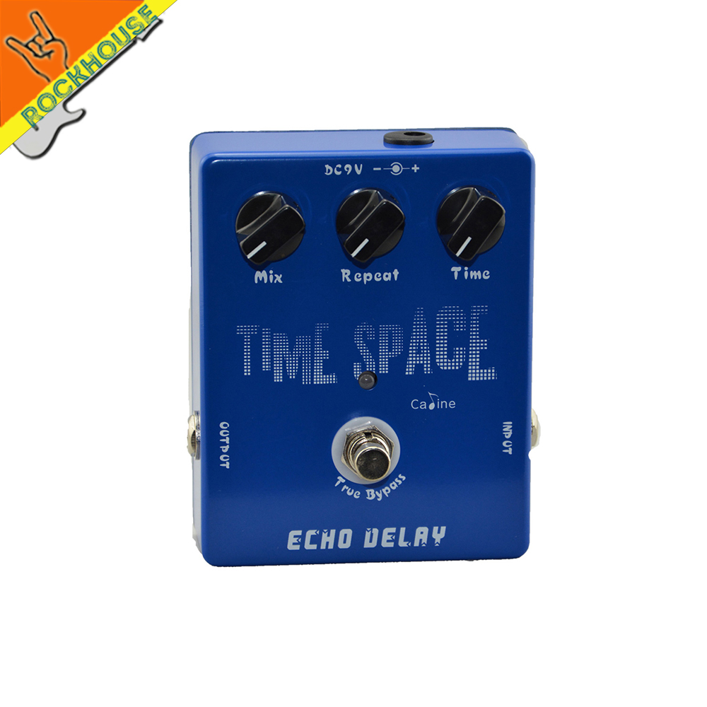 Caline Analog Delay Guitar Effect Pedal delay stompbox with time mix repeat knob mild and mellow circuit delay True Bypass