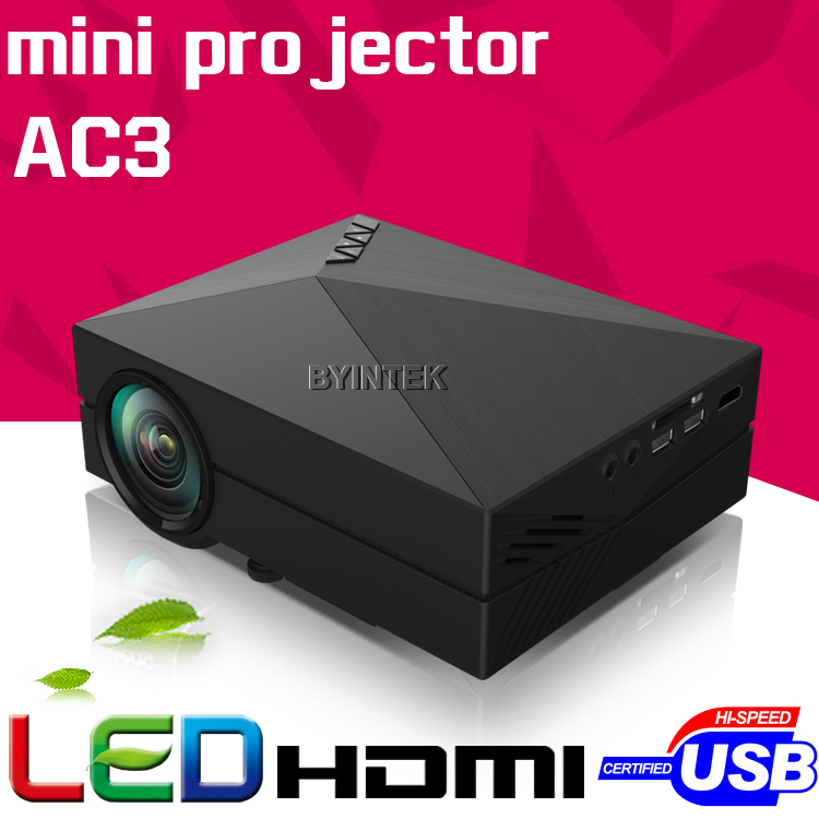 New Model gM60 Home Theater HD 1080P portable Video LCD VGA HDMI Cinema USB AC3 Theater 3D mini LED Projector Proyector Beamer(China (Mainland))