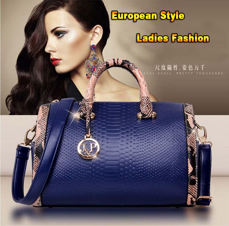 2015 New Fashion Style Women Handbag Bag Cowhide Genuine Leather Crocodile Scales Female Vintage Tote Messenger - HK LINFAY GLOBLE TRADING CO.,LTD store