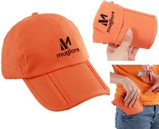 Outdoor quick dry Hat Foldable Leisure Sports Cap with sun protection