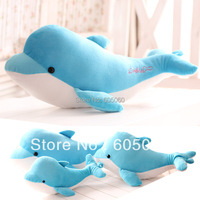 2015  Lovely carton sea world dolphin doll plush toy pillow cushion for baby gifts