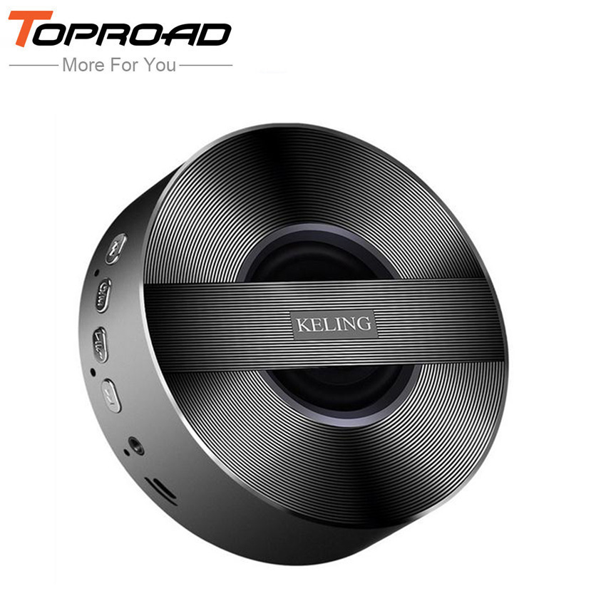 TOPROAD Wireless Bluetooth Speaker for Phones Portable Mini Speakers for NoteBook Music Mp3 Laptop Metal enceinte for Xiaomi(China (Mainland))