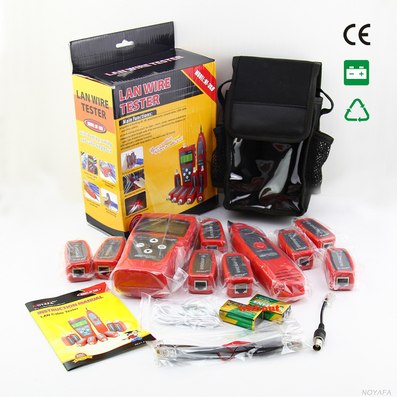 Original Noyafa NF-388 Telephone Wire Tracker Diagnose Tone Tool Kit LAN Network Cable Tester Cat5 Cat6 RJ45 UTP STP Line Finder(China (Mainland))