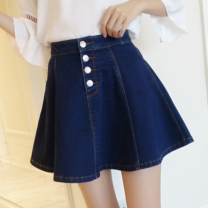 get cheap blue jean skirts for