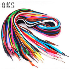 Quality 100pairs/lot 1cm Tube Polyester Shoe Laces Cheap Shoe Laces 31 Colors Available(China (Mainland))
