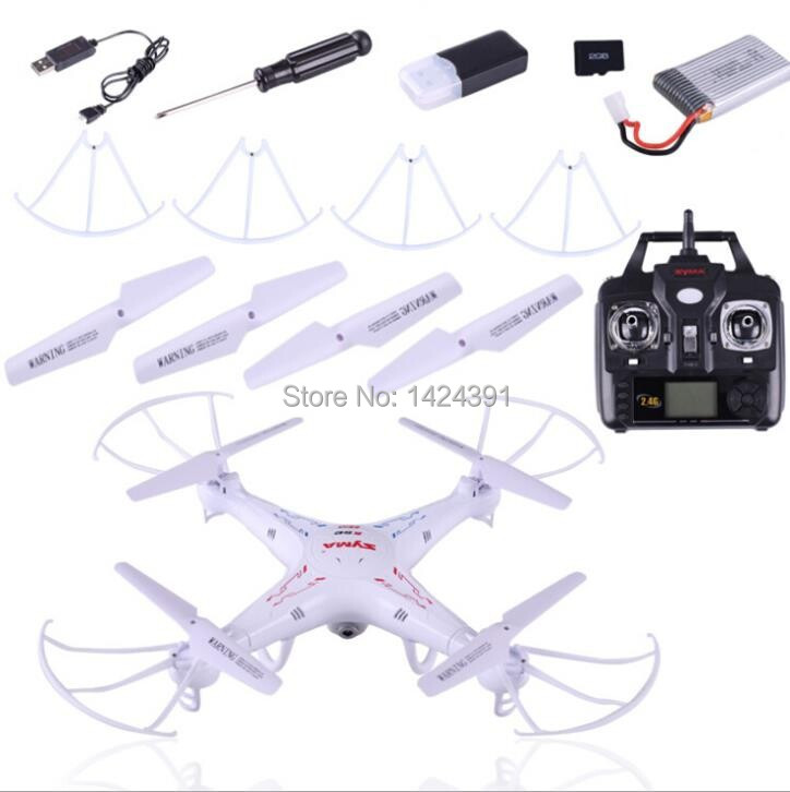 2014 new SYMA X5C 100% Original 2.4G 4CH 6-Axis Remote Control RC Helicopter Quadcopter Toys Drone Ar.Drone With HD Camera(China (Mainland))