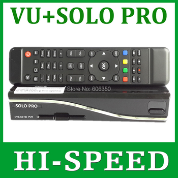 1pc Solo Pro Satellite Receiver Linux System Enigma 2 Mini VU+ Solo with CA card sharing Youtube IPTV free shipping post