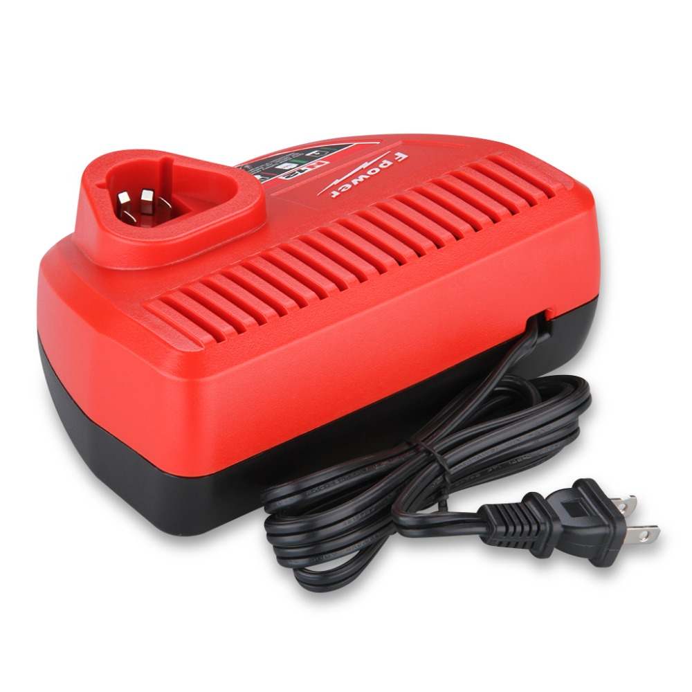 Battery Tools Charger for Milwaukee 12V Lithium-ion Battery Color Red High Quality(China (Mainland))