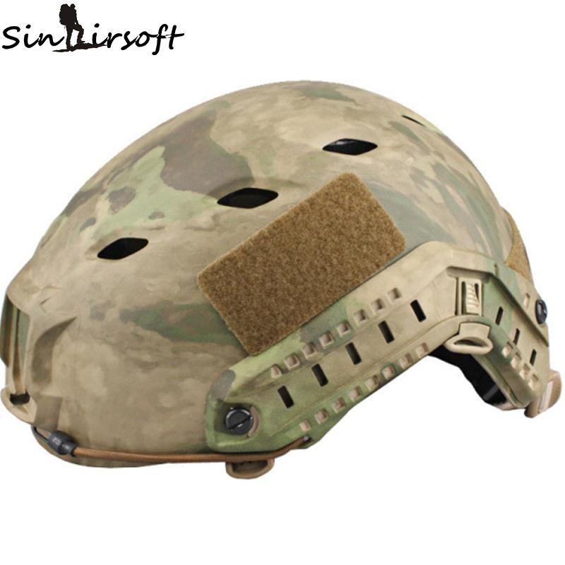 Фотография Sinairsoft EMERSON FAST Base Jump BJ version Helmet Tactical helmet Multicam EM5659