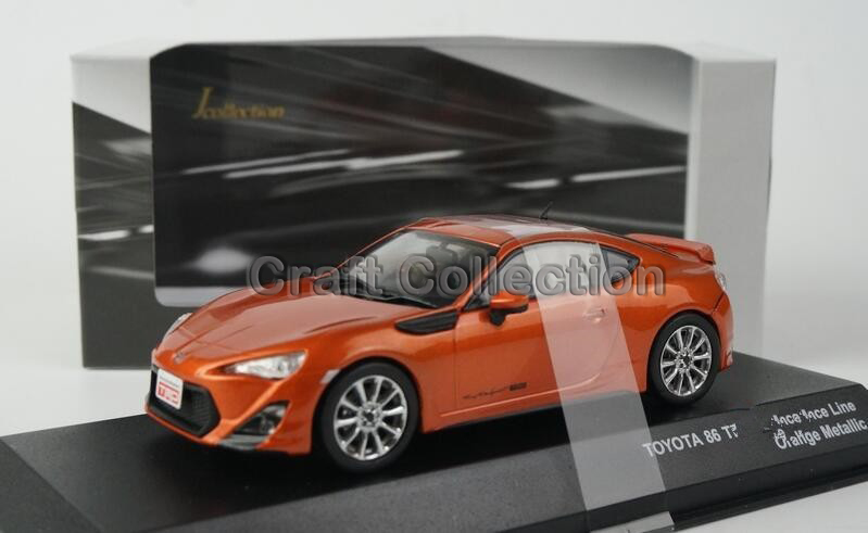 Здесь можно купить  Orange 1:43 Toyota TRD 86 Modified version Coupe Sport Car Alloy Model Diecast Show Car Replica Metal Miniature for Sale  Игрушки и Хобби