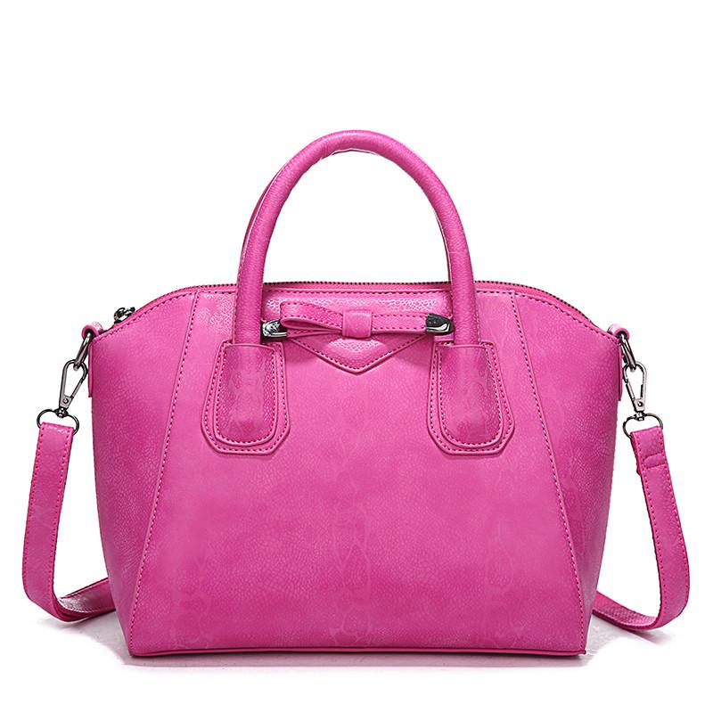 Brand women's handbag bow handbags smiley bag one shoulder cross-body women's handbag girl bags nice good fashion design female(China (Mainland))