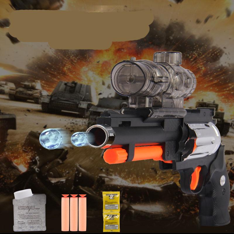 Children's educational toys wholesale M2 revolver water play soft dual-use gun play Boy toy gun toys(China (Mainland))