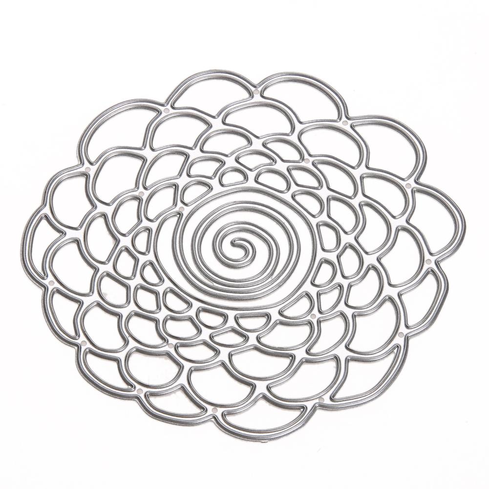 Compre Círculo Troquelado Metal Flor Círculos Troqueles De Corte ...