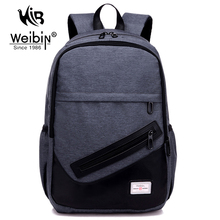 Buy Weibin Men's Backpack Men Nylon Backpacks School Bags Teenagers Casual 15.6 inch Laptop Bag Male Daypacks Rucksack Mochila for $19.99 in AliExpress store