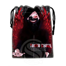 H-P842 Custom Tokyo Ghoul#7 drawstring bags for mobile phone tablet PC packaging Gift Bags18X22cm SQ00806#H0842(China (Mainland))