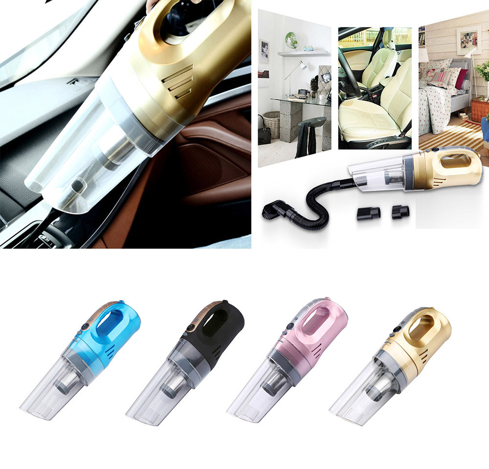 1PC Compact Car Vacuum Cleaner Super Cyclone Powerful Easy Use Versatile 12V 120W Car Interior Accessories Wholesale