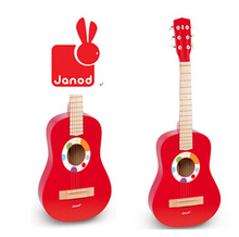 Children Toy Wood Guitar Mimi Toy Wooden Guitar Toy Can be Playable Musical Instruments 6 String(China (Mainland))