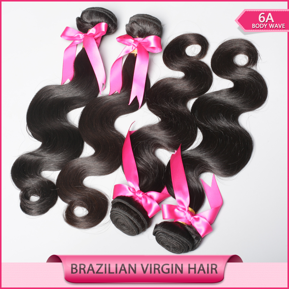 Brazilian Virgin Hair Body Wave 3Pcs Prom Queen Hair Products Brazilian Body Wave Human Hair Weave Bundle With Free Shipping(China (Mainland))