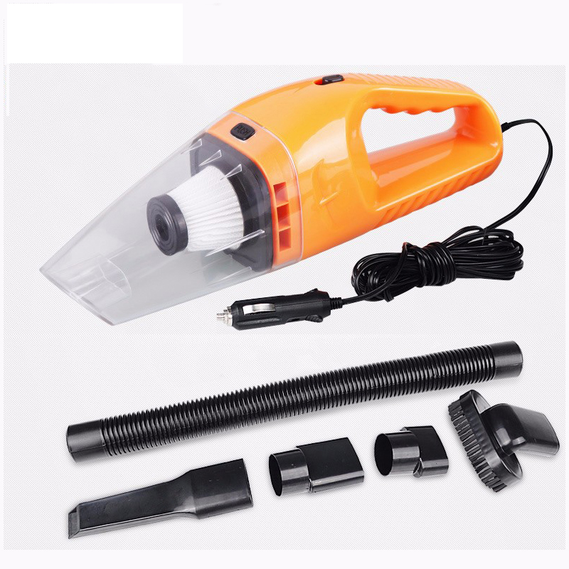 Auto Accessaries 5M Cable 12V 120W Powerful Suction Hand Held Portable Car Vacuum Cleaner Wet And Dry Dual Use Hepa Filter(China (Mainland))